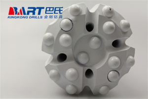 T38 64mm Hot-pressed Thread Button Drill Bit